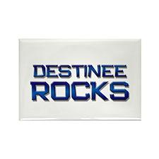 destinee rocks Rectangle Magnet