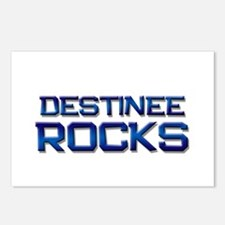 destinee rocks Postcards (Package of 8)