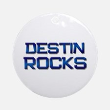 destin rocks Ornament (Round)