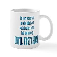Sorry Small Mug