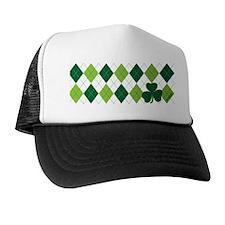 Clover Argyle Trucker Hat
