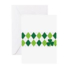 Clover Argyle Greeting Card