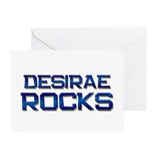 desirae rocks Greeting Card