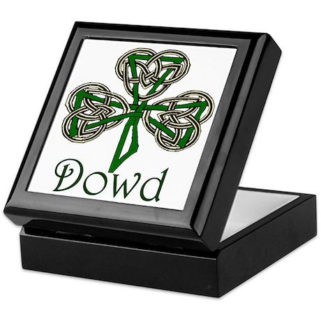 Dowd Shamrock Keepsake Box