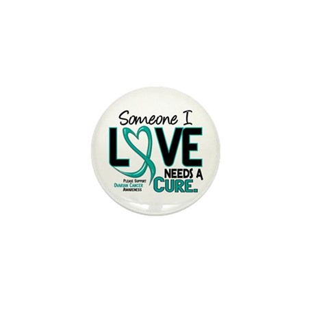 Needs A Cure 2 OVARIAN CANCER Mini Button