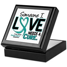 Needs A Cure 2 OVARIAN CANCER Keepsake Box