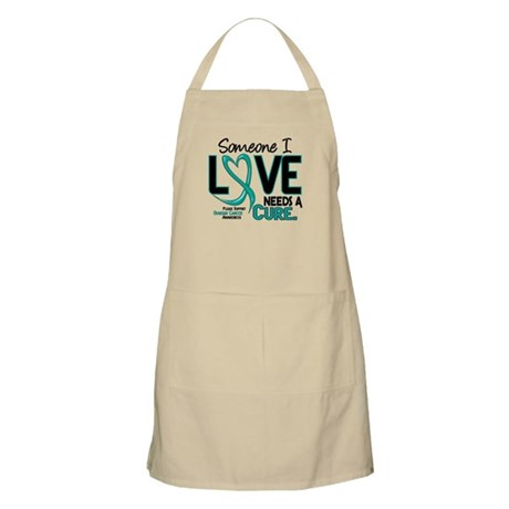 Needs A Cure 2 OVARIAN CANCER BBQ Apron