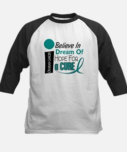 BELIEVE DREAM HOPE Ovarian Cancer Kids Baseball Je