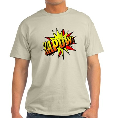 Kapow! Ash Grey T-Shirt