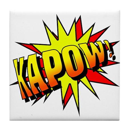 Kapow! Tile Coaster