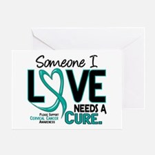 Needs A Cure 2 Cervical Cancer Greeting Card
