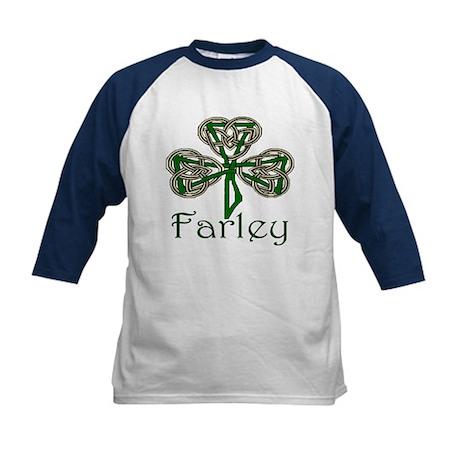 Farley Shamrock Kids Baseball Jersey
