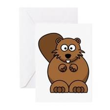 Beaver Greeting Cards (Pk of 20)