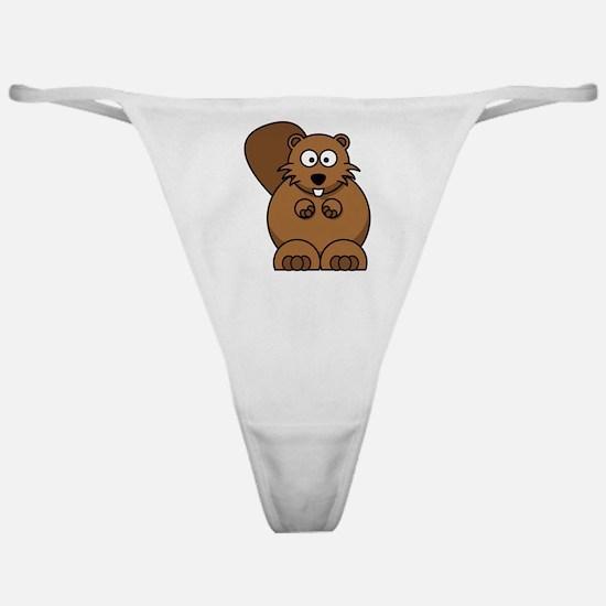 Beaver Classic Thong