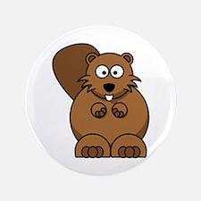 "Beaver 3.5"" Button (100 pack)"