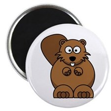 """Beaver 2.25"""" Magnet (100 pack)"""