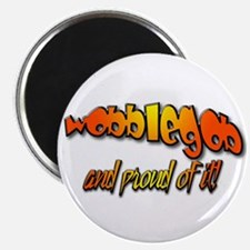 """Wobblegob and proud! 2.25"""" Magnet (10 pack)"""
