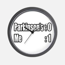 """I'm Beating Parkinson's"" Wall Clock"