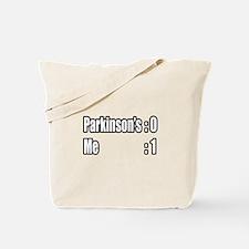 """I'm Beating Parkinson's"" Tote Bag"