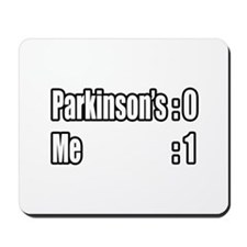 """I'm Beating Parkinson's"" Mousepad"