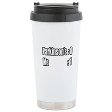 """I'm Beating Parkinson's"" Travel Mug"