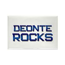 deonte rocks Rectangle Magnet