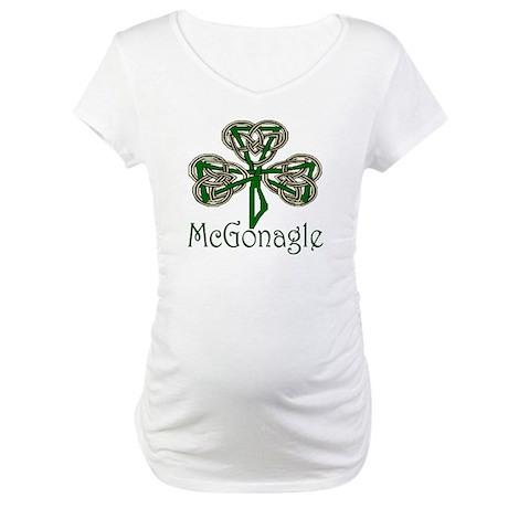 McGonagle Shamrock Maternity T-Shirt