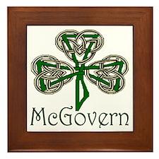 McGovern Shamrock Framed Tile