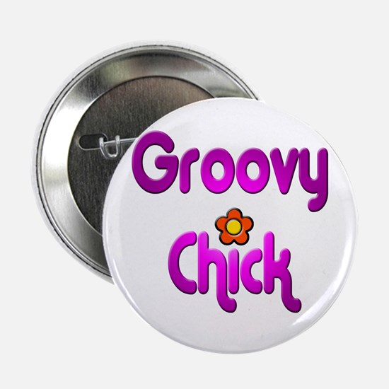 Groovy Chick Button