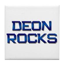 deon rocks Tile Coaster