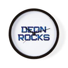 deon rocks Wall Clock