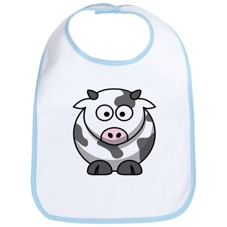 Cartoon Cow Bib