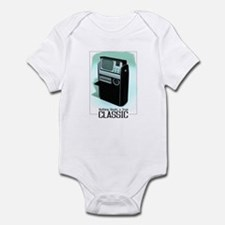 Classic Tricorder Painting Infant Bodysuit
