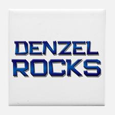 denzel rocks Tile Coaster