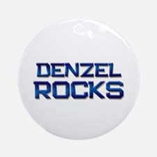 denzel rocks Ornament (Round)