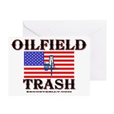 American Oilfield Trash Greeting Cards (Pk of 20)
