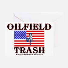 American Oilfield Trash Greeting Cards (Pk of 10)