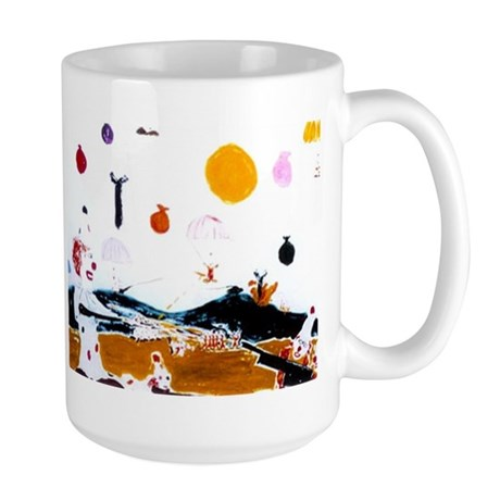 """Clowns at War"" non-wearables Large Mug"