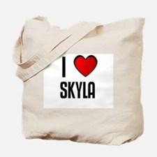 I LOVE SKYLA Tote Bag