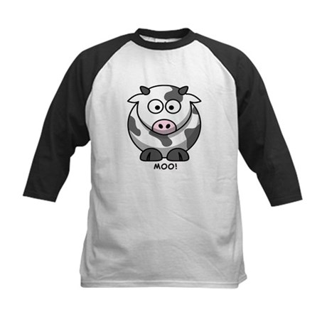 Moo Cow Kids Baseball Jersey