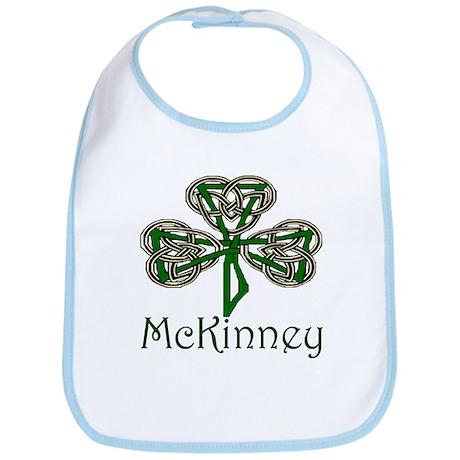 McKinney Shamrock Bib