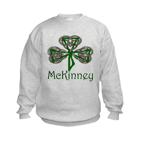 McKinney Shamrock Kids Sweatshirt