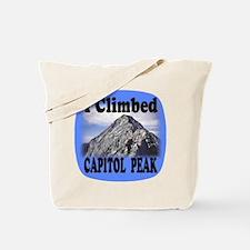 I Climbed Capitol Peak Tote Bag
