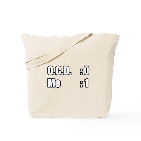 """I'm Beating OCD"" Tote Bag"