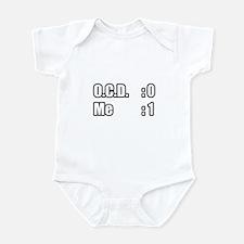 """""""I'm Beating OCD"""" Infant Bodysuit"""