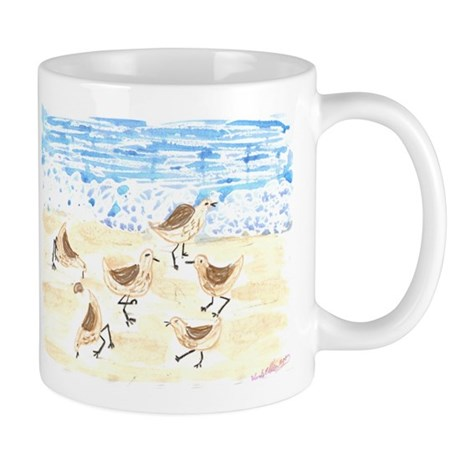 Sandpipers on Old Orchard Bea Mug