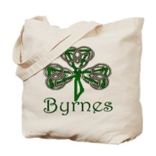 Byrnes Shamrock Tote Bag
