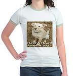 Have A Heart! Adopt A Dog! Jr. Ringer T-Shirt