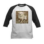 Have A Heart! Adopt A Dog! Kids Baseball Jersey