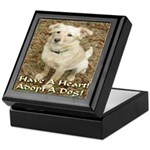 Have A Heart! Adopt A Dog! Keepsake Box